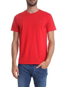 Levi's - Levi's Original Housemark T-shirt in red
