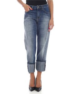 Pinko - Becca 1  jeans in faded blue