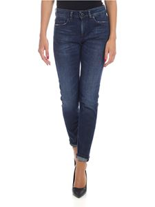 Dondup - Monroe jeans in blue stretch cotton