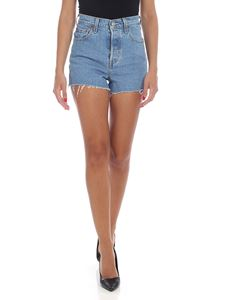 Levi's - Ribcage shorts in light blue