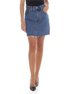 Levi's - Blue denim mini skirt