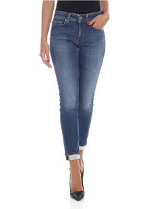 Dondup - Monroe jeans in blue stretch denim