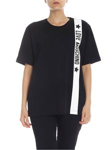 Love Moschino - LOVE MOSCHINO oversize t-shirt in black