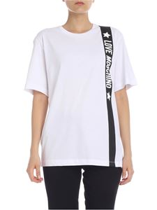 Love Moschino - LOVE MOSCHINO oversize t-shirt in white