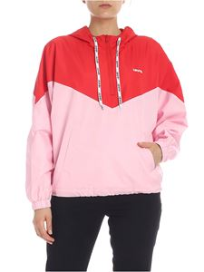Levi's - Kimora windbreaker in pink and red colorblock