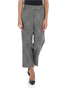 Dondup - Ivy pants in gray Prince of Wales