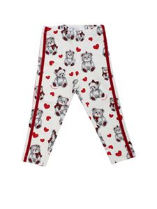 Monnalisa - Teddy bear printed leggings
