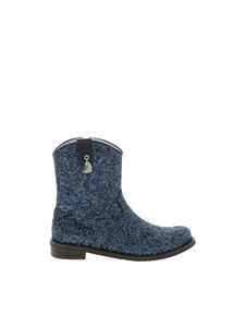 Monnalisa - Texan in blue glitter