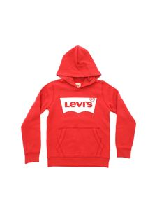 Levi's - Levi's print hoodie in red