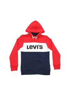 Levi's - Blocky Levi's red and white hoodie