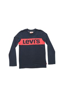 Levi's - Levi's print t-shirt in blue