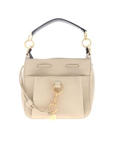See by Chloé - Medium Tony Cement Beige handbag