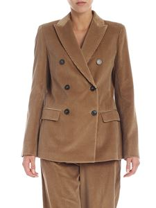 Max Mara Weekend - Giacca doppiopetto Ometto color cammello