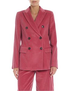 Max Mara Weekend - Double-breasted Ometto jacket in pink
