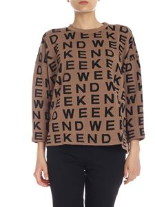 Max Mara Weekend - Pullover Legno marrone