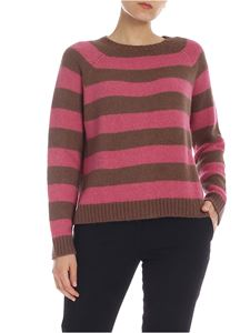Max Mara Weekend - Calamo pullover in brown and pink