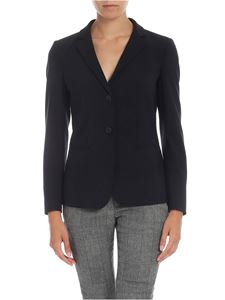 Dondup - Single-breasted jacket in black