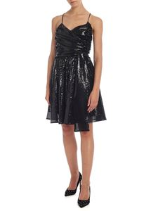 MSGM - Sequined dress in black