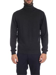 Etro - Turtleneck pullover in anthracite color
