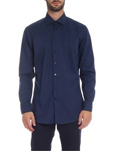 Etro - Slim fit shirt in blue