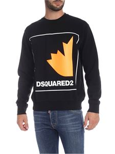 Dsquared2 - DSQUARED2 logo sweatshirt in black