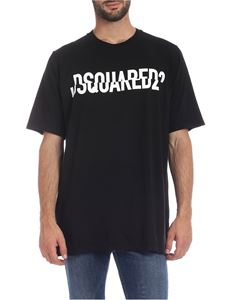 Dsquared2 - DSQUARED2 oversized  t-shirt in black