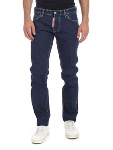 Dsquared2 - Slim Jean jeans in blue with vintage details