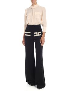 Elisabetta Franchi - Palace suit in Butter and black