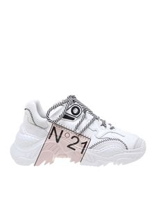 N° 21 - Limited Edition Billy sneaker in white
