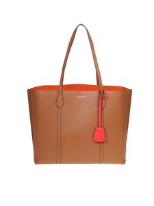 Tory Burch - Perry shopping bag in leather color