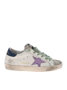 Golden Goose Deluxe Brand - Superstar sneakers in white and gray