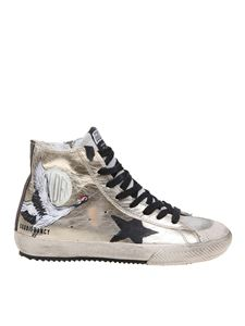 Golden Goose Deluxe Brand - Sneakers Francy with painting