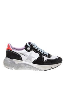 Golden Goose Deluxe Brand - Running Sole sneakers in black and white