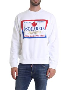 Dsquared2 - DSQUARED2 Superior printed sweatshirt in white