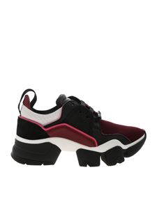 Givenchy - Jaw sneakers in black and burgundy
