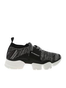 Givenchy - Chausette Jaw sneakersin black and gray