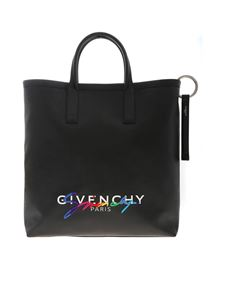 Givenchy - Rainbow Signature tote in black
