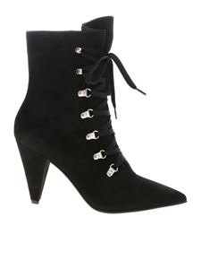 Gianvito Rossi - Waterloo pointed toe boots in black