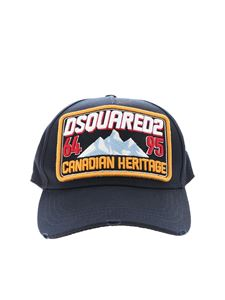 Dsquared2 - Canadian Heritage hat in blue