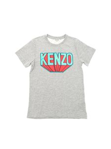 Kenzo - Super Kenzo t-shirt in gray with logo