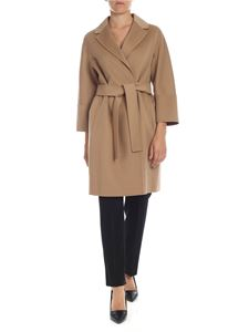 S Max Mara - Arona coat in Camel color