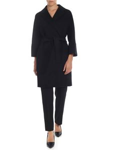 S Max Mara - Arona coat in black