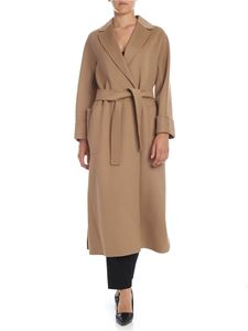 S Max Mara - Algiers coat in sand color