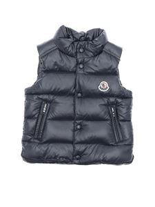 Moncler Jr - Bernard down jacket in dark blue