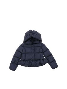 Moncler Jr - Cayolle down jacket in dark blue
