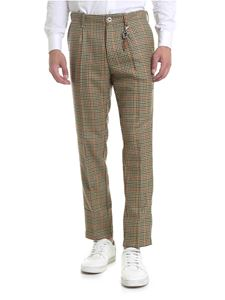 Ribbon Clothing - Pantalone pied de poule multicolor