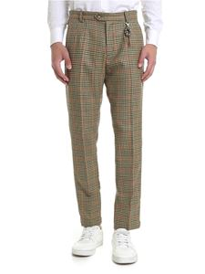 Ribbon Clothing - Pantalone slim fit motivo pie de poule