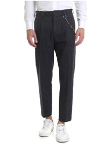 Ribbon Clothing - Pantalone nero in Principe di Galles