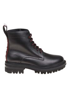 Dsquared2 - Evolution Tape boots in black leather
