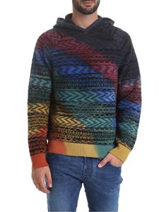 Missoni - Hoodie with multicolor pattern